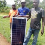 Solar for His Family Youth House Maliki Village