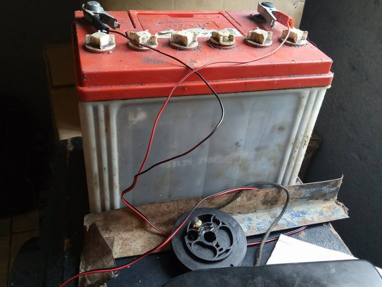 Battery used in the solar power system Kenya Africa