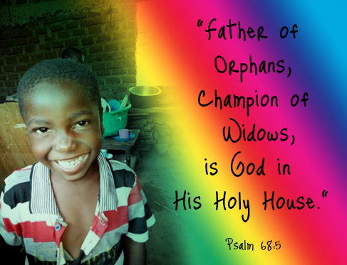 father of orphans, champion of widows is god in his holy house