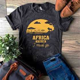 Africa, I must go