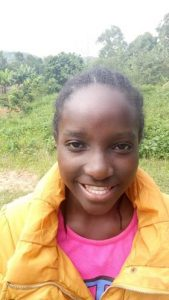 Triza Anyango is 15yrs and in class 7