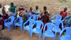 Chairs donated to Africa