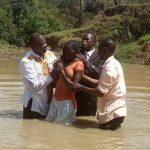 Baptism by Pastor Samuel in Kenya Africa