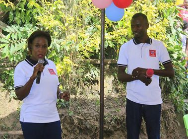 Franklyn and Sarah speaking