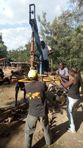 Well drilling in Kenya