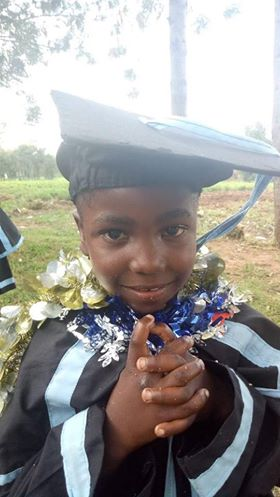 Child in Africa Graduating School
