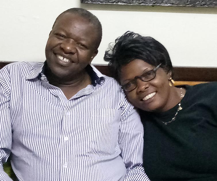 Pastor Samson and wife Gladys H2H partners in Kenya